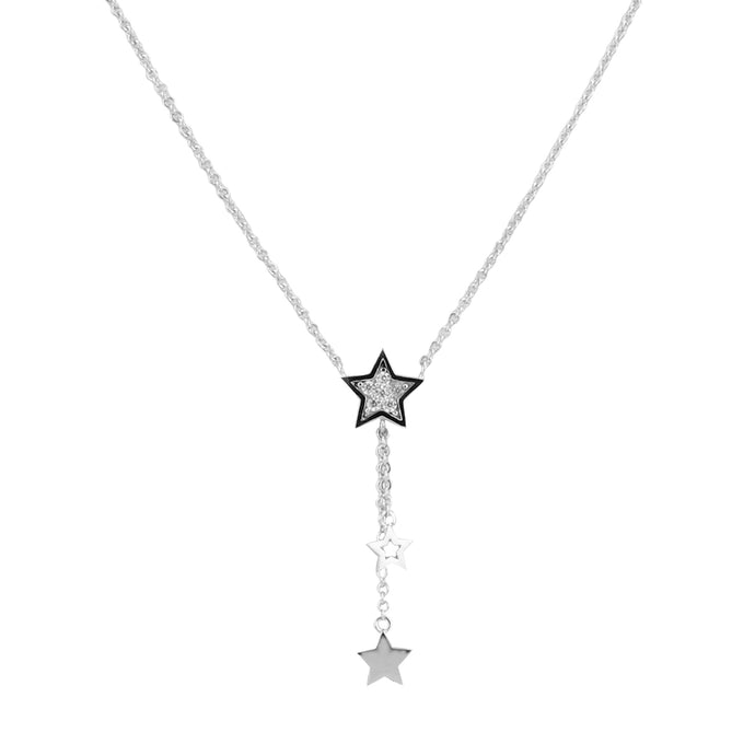 Dangle Star CZ Necklace Kids