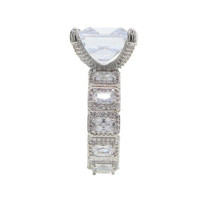 Princess Cut Ring Large