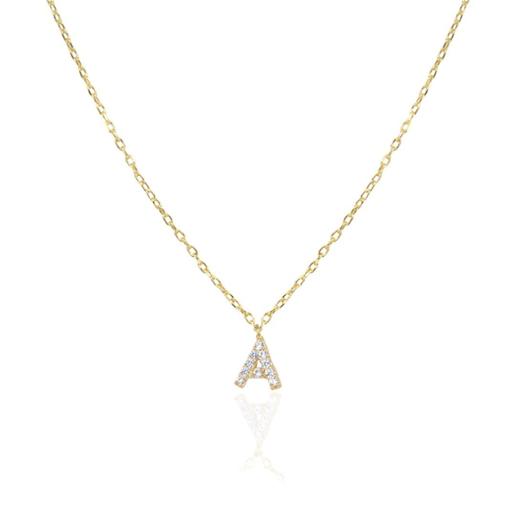 Dainty Letter Necklace Kids