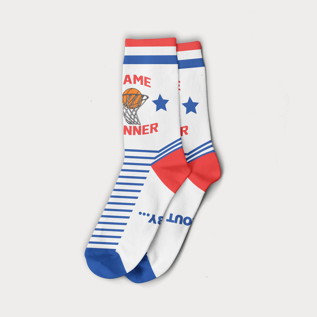 Game Winner Logo Socks
