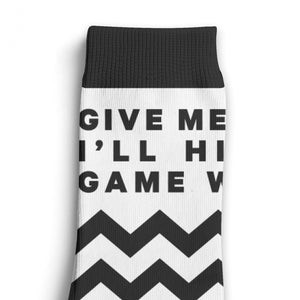 Game Winner Lyric Socks