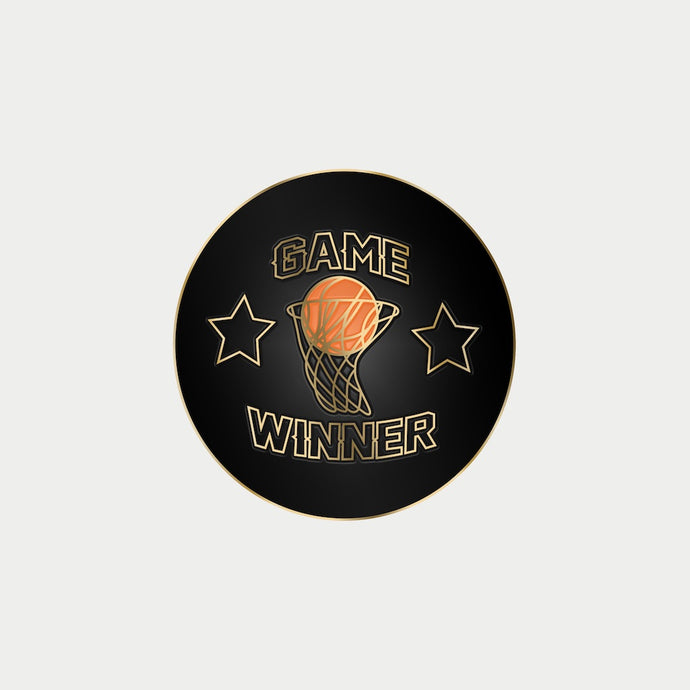 Game Winner Enamel Pin