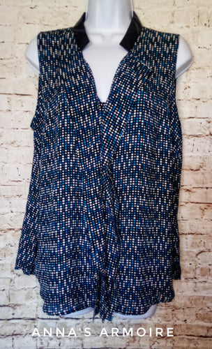 Worthington Sleeveless Top Size L - Anna's Armoire
