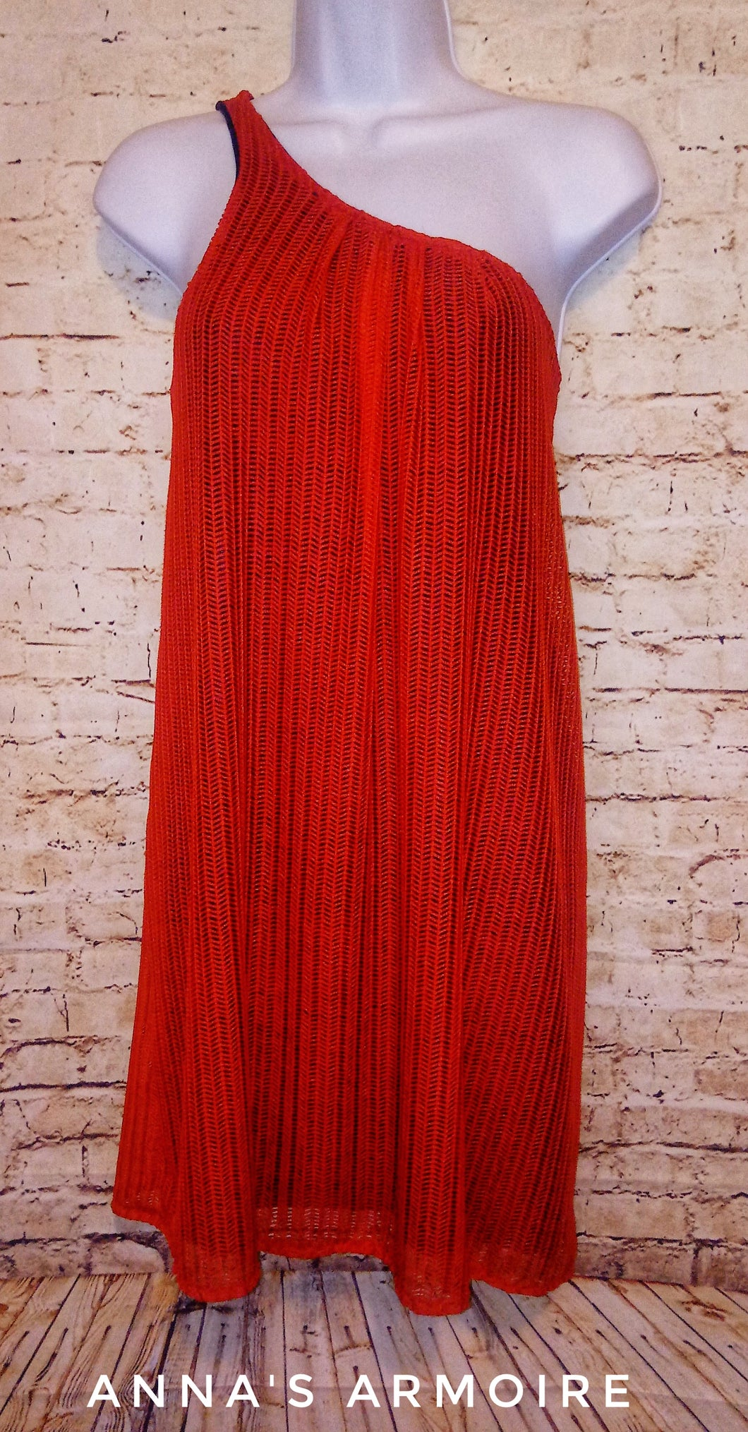 Judith March One Shoulder Dress Size M - Anna's Armoire