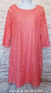 London Times Lace Dress Size 8