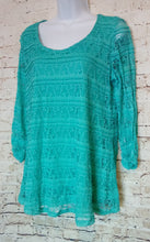 Load image into Gallery viewer, Kim Rogers Lace Top Size M - Anna's Armoire