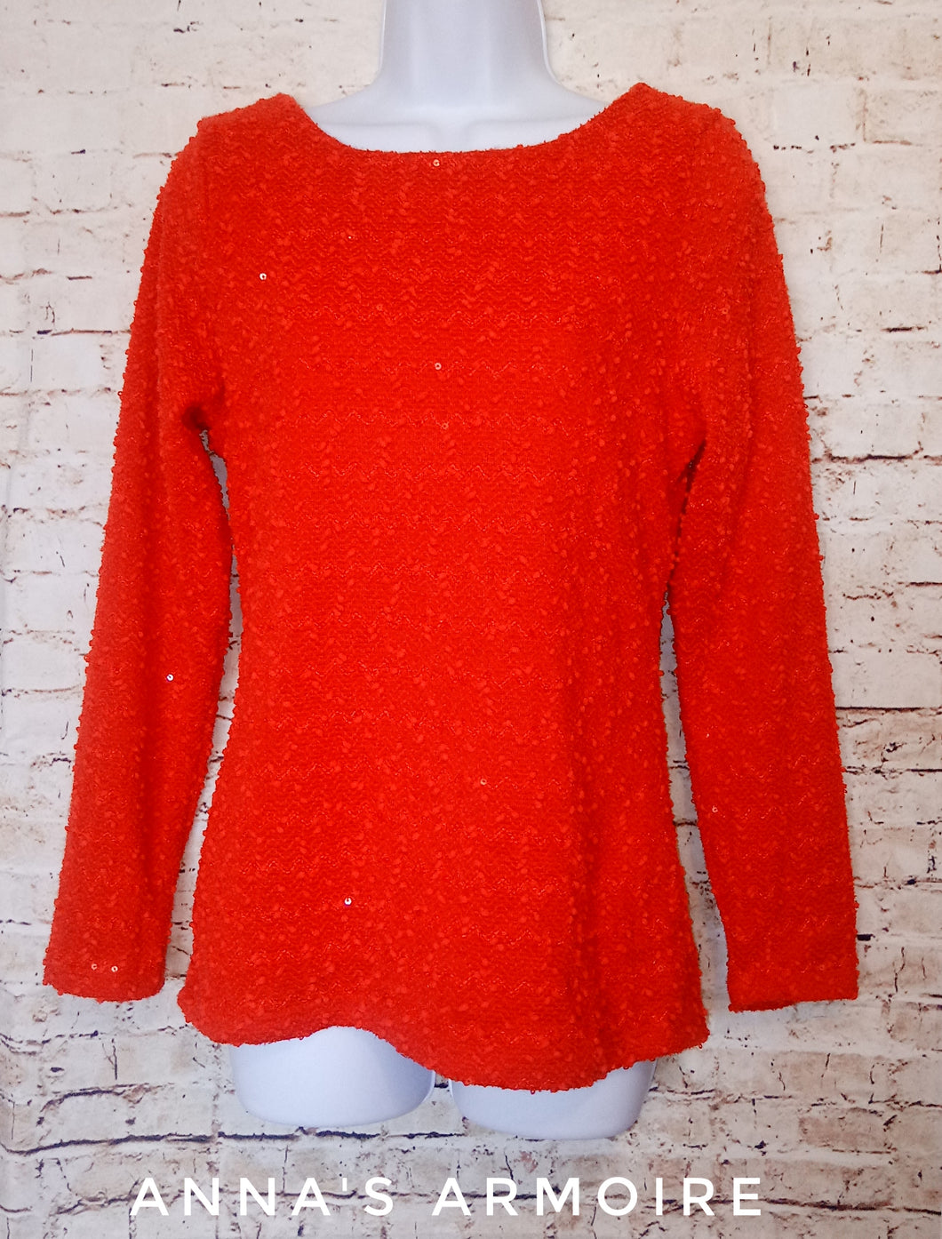 Jennifer Lopez Long Sleeve Top Size M - Anna's Armoire