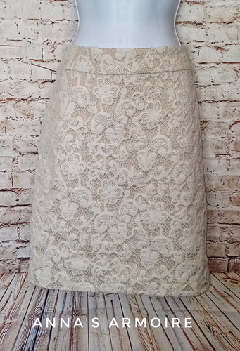 Cynthia Rowley Lace Skirt Size 10