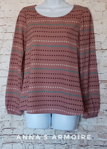 Caramela Long Sleeve Top Size S