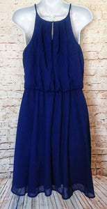 New with Tags Blue Rain Sleeveless Dress Size M - Anna's Armoire