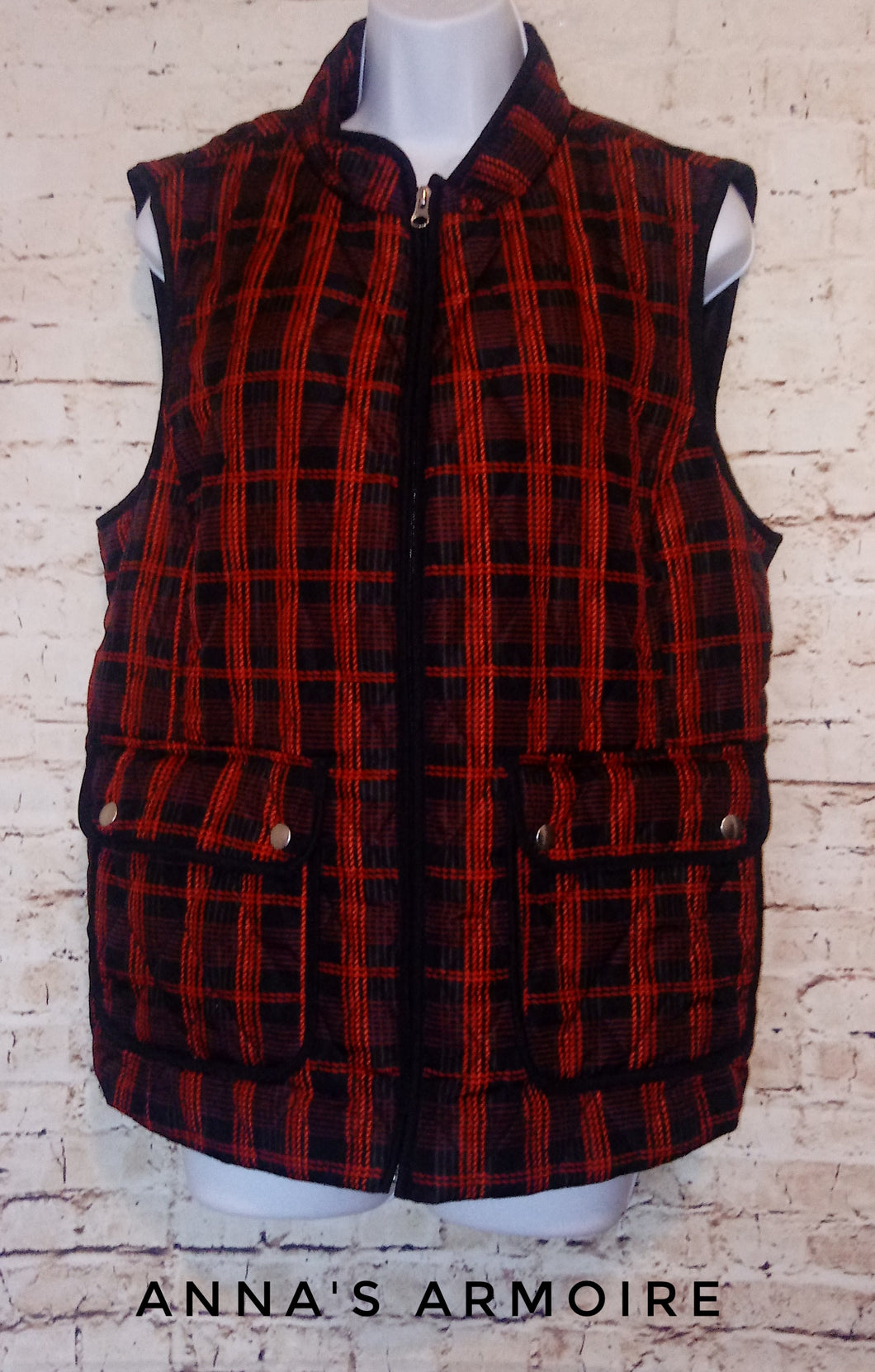 Croft & Barrow Quilted Vest Size L - Anna's Armoire