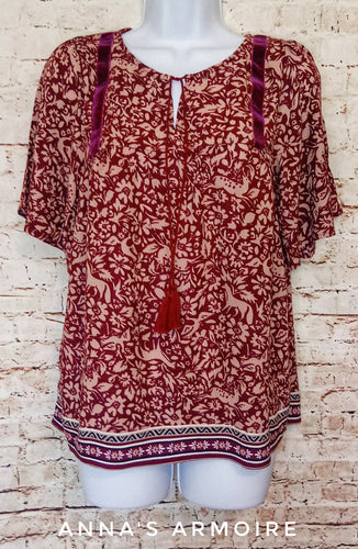 Old Navy Boho Top Size S - Anna's Armoire