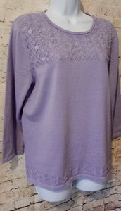 Alfred Dunner Sweater Size S - Anna's Armoire