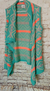 New with Tags B Sharp Sleeveless Cardigan Size M