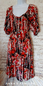 AGB Midi Dress Size 12 - Anna's Armoire