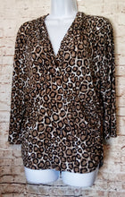 Load image into Gallery viewer, Chaus Leopard Print Top Size XL - Anna's Armoire