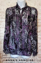 Load image into Gallery viewer, Maurices Sheer Top Size L - Anna's Armoire