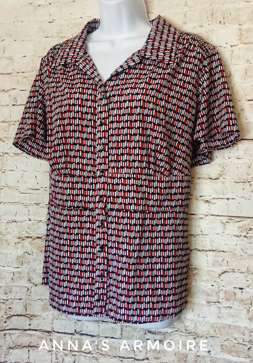 Lane Bryant Button Down Top Size 14/16 - Anna's Armoire
