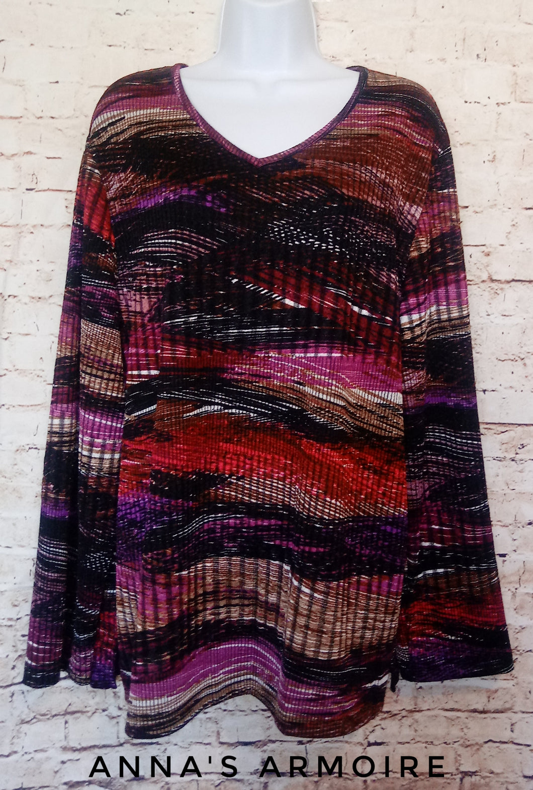 BonWorth Long Sleeve Top Size XL