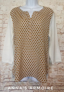 New with Tags Van Heusen Top Size L