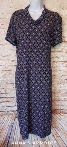 George Short Sleeve Dress Size L - Anna's Armoire