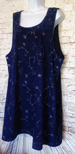 Studio C Jumper Dress Size 1X