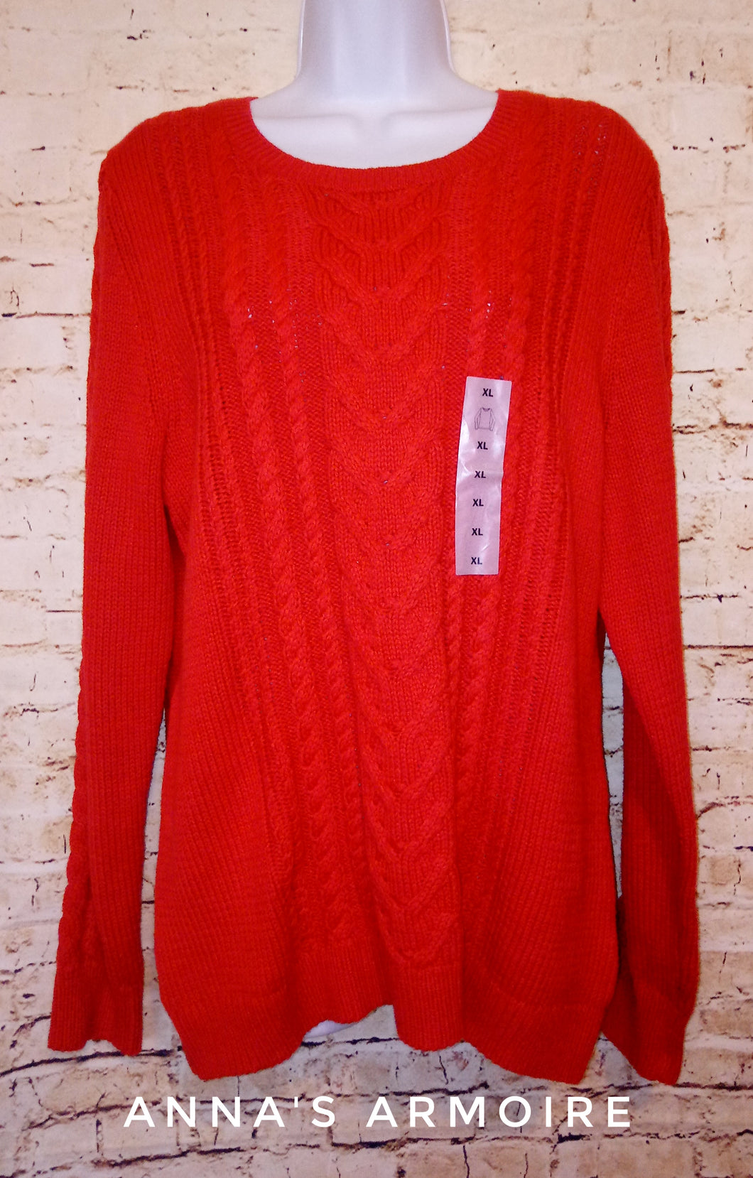 New with Tags Old Navy Cable Knit Sweater Size XL - Anna's Armoire