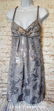 Load image into Gallery viewer, New with Tags Muse Silver Dress Size 6 - Anna's Armoire