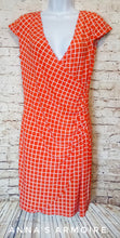Load image into Gallery viewer, AA Studio Faux Wrap Dress Size 8 - Anna's Armoire