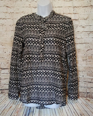 H&M Black and White Tunic Size 6 - Anna's Armoire