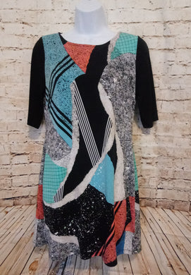 Style & Co. Multi Print Dress Size S - Anna's Armoire