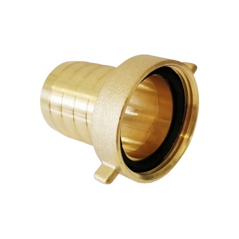 Brass hose nozzle with female thread