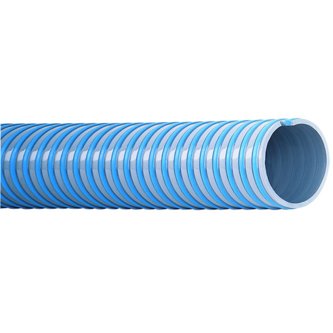 Super-Elastico spiral-reinforced suction and pressure hose 1""