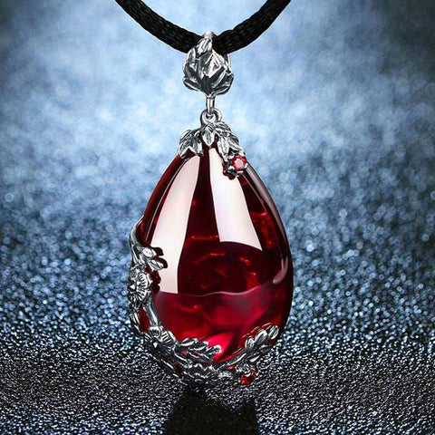 Royal Necklace Gemstone S925 Silver
