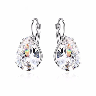 Stunning Cubic Zirconia Crystal Earrings