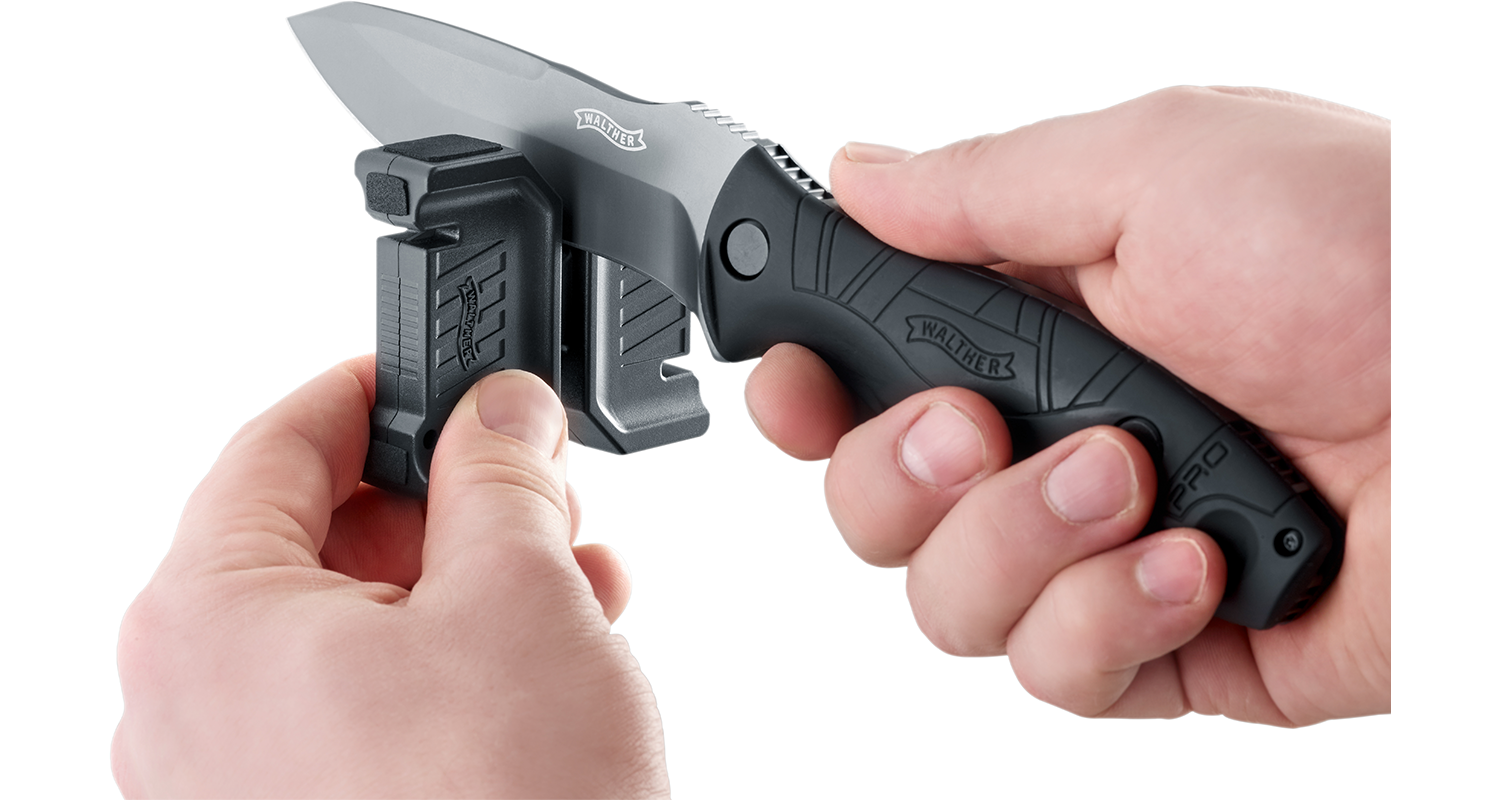 Walther Compact Knife Sharpener Accessory - Frontier Outdoors
