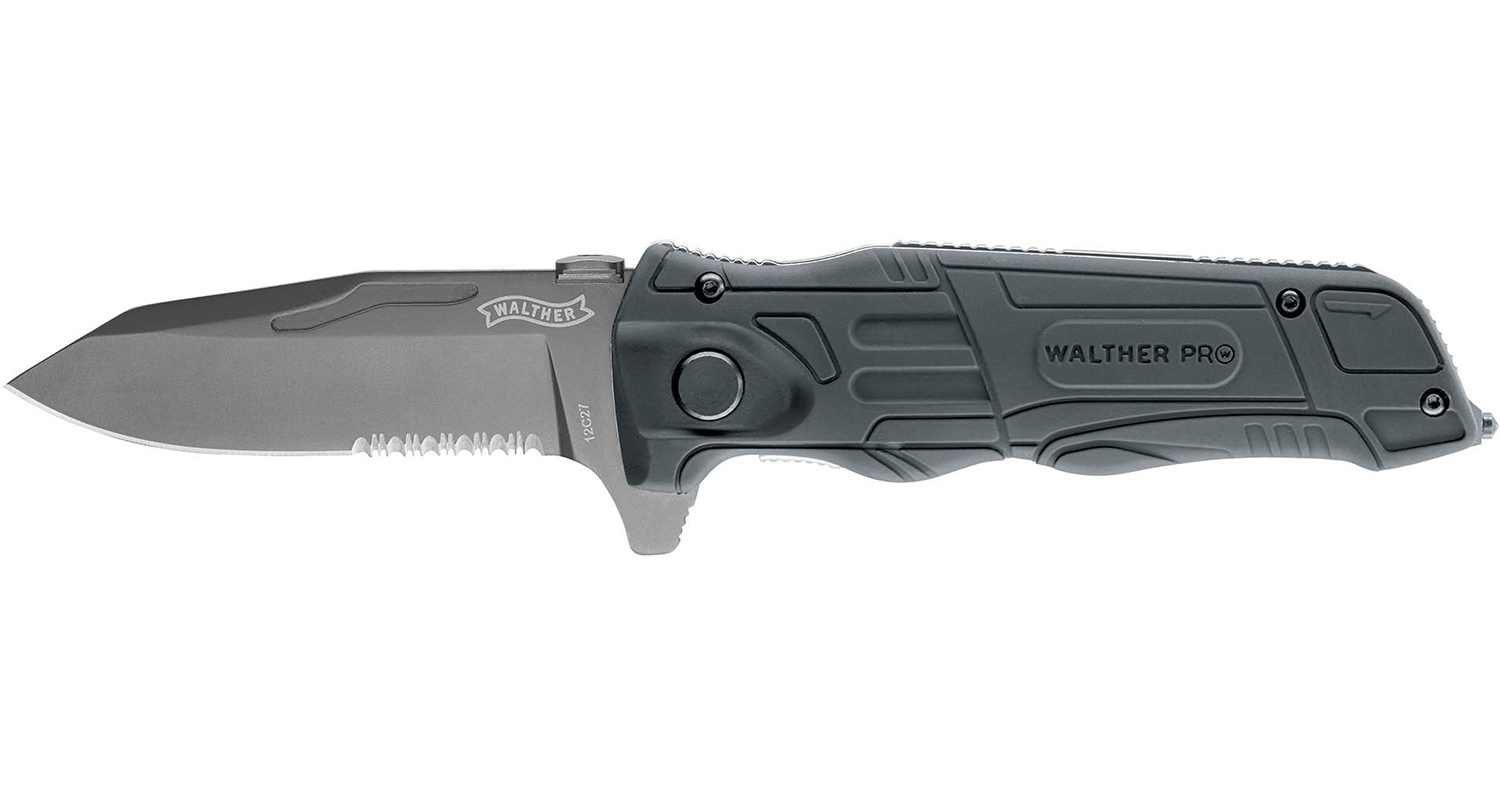 Walther Pro Rescue Pro Black - Frontier Outdoors