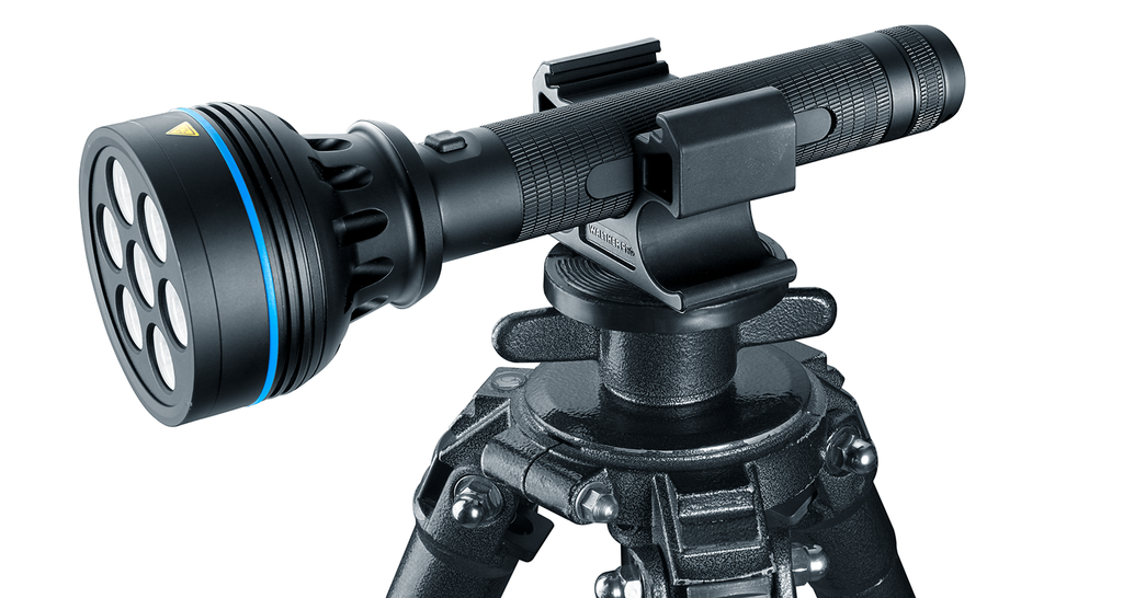 Walther Pro Tripod Torch Holder - Frontier Outdoors