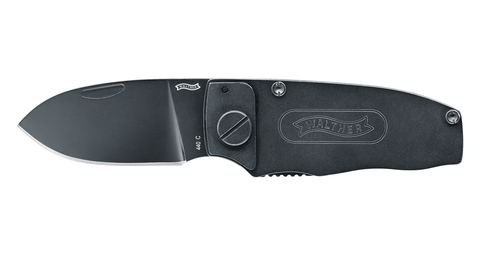 Knife Walther Slim Pocket Knife 440C, EDC, knives, two-handed folding - Frontier Outdoors Australia