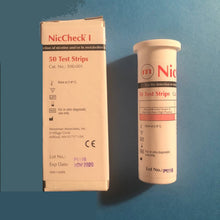 Load image into Gallery viewer, NicCheck vial 50 biostrips