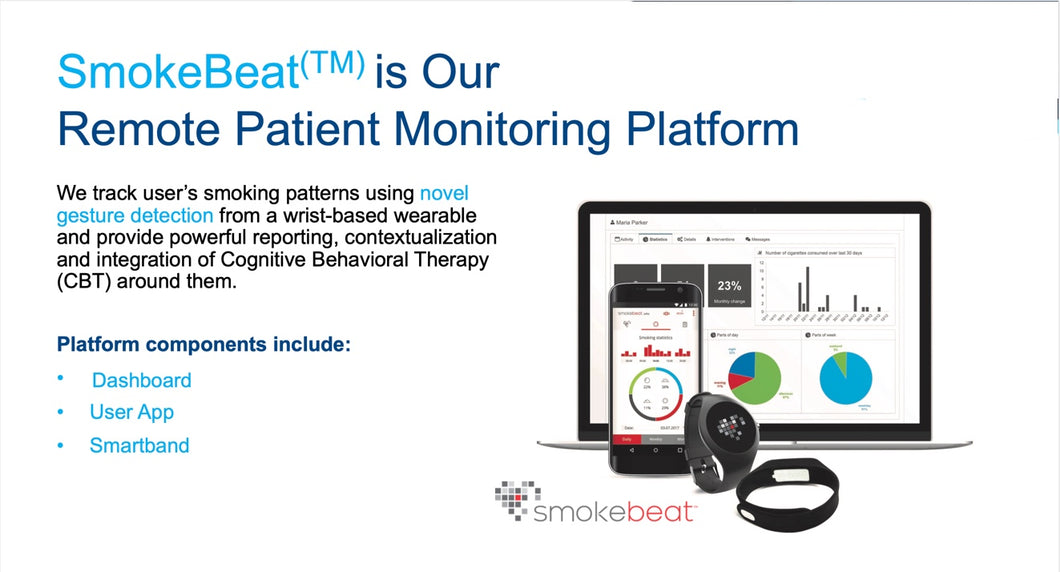 Smoke Beat-Real-Time Remote Smoking Monitor Platform to Improve Your Quitting Efforts