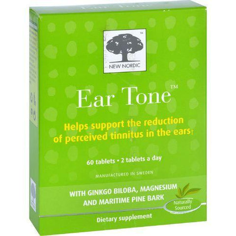 New Nordic Ear Tone  60 Tablets