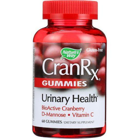 Natures Way Cran Rx  Urinary Health  60 Gummies