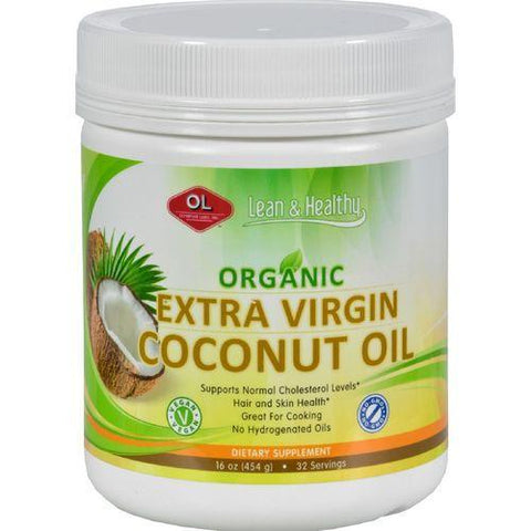 Olympian Labs Coconut Oil  Virgin  Refined  10 oz