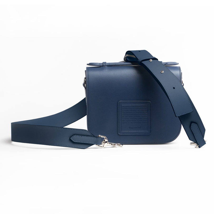 Saddle Crossbody - Ultramarine