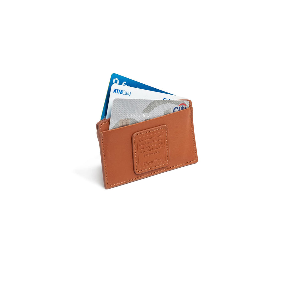 Card holder - Terracotta