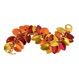 Leaves Bracelet - Flame