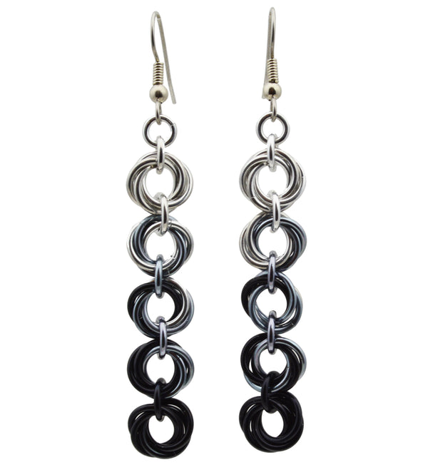 5-Knot Earrings - Industrial