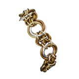 Knotted Double Bracelet - Granite