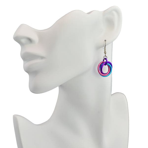Large Knot Earrings - Taffy